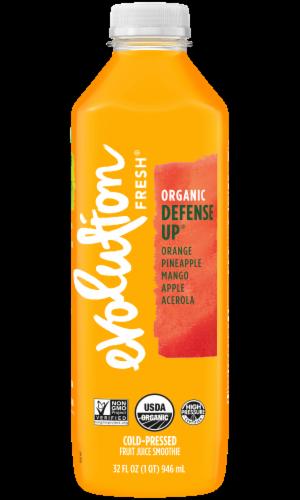 Evolution Fresh Organic Defense Up Cold-Pressed Fruit Juice Smoothie Perspective: front