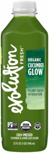Evolution Fresh Organic Cucumber Glow Juice Perspective: front