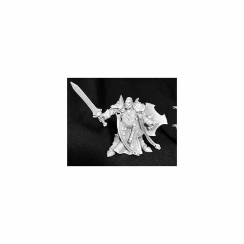 Reaper Miniatures REM03722 Dark Heaven Legends Jurden Half Orc Paladin Miniature Perspective: front