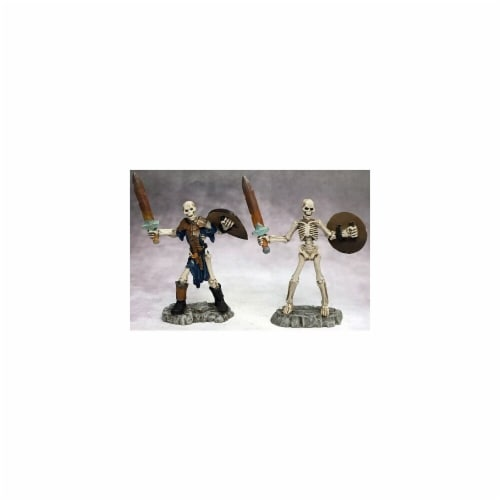 Reaper Miniatures REM03756 Dark Heaven Legends-Skeleton Swordsmen, Pack of 2 Perspective: front