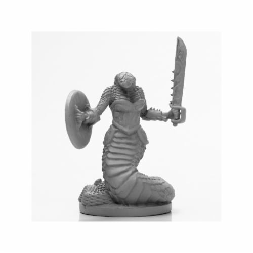 Reaper Miniatures REM03979 Dark Haeven Legends-Female Nagendra Warrior Miniature Perspective: front