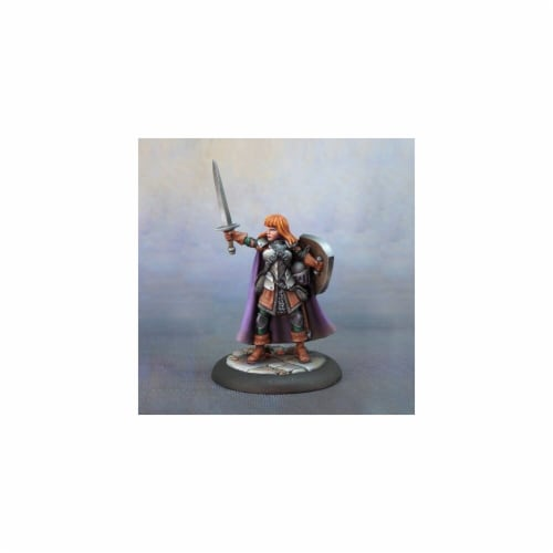 Reaper Miniatures REM07012 Dungeon Dwellers Caerindra Thistlemoor, Sellsword Bobby Jackson Mi Perspective: front