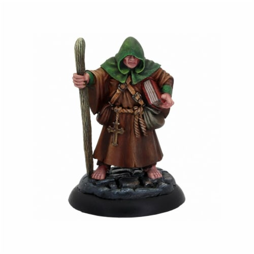Reaper Miniatures Dungeons & Dragons-Brother Hammond Miniature Perspective: front