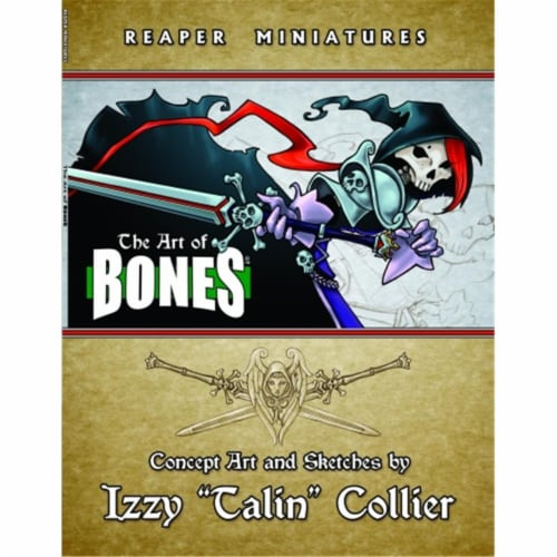 Reaper Miniatures REM25008 The Art of Reaper Bones by Talin Perspective: front