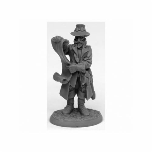 Reaper Miniatures REM44018 Bones Sheriff Drumfasser Miniatures, Black Perspective: front