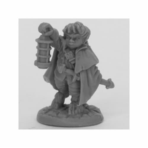 Reaper Miniatures REM44037 Bones Bergamot Halfling Scout Miniatures, Black Perspective: front