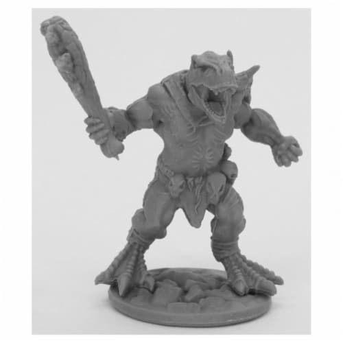 Reaper Miniatures REM44063 Bones Black-Blacktooth Savage Miniature Perspective: front