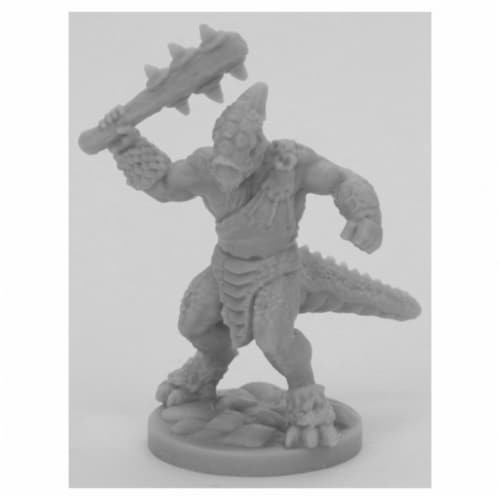 Reaper Miniatures REM44066 Bones Black-Bloodcrest Smasher Miniature Perspective: front
