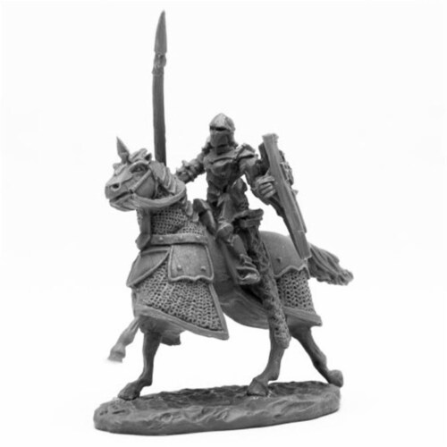 Reaper Miniatures REM44092 Bones Overlord Cavalry Miniatures, Black Perspective: front