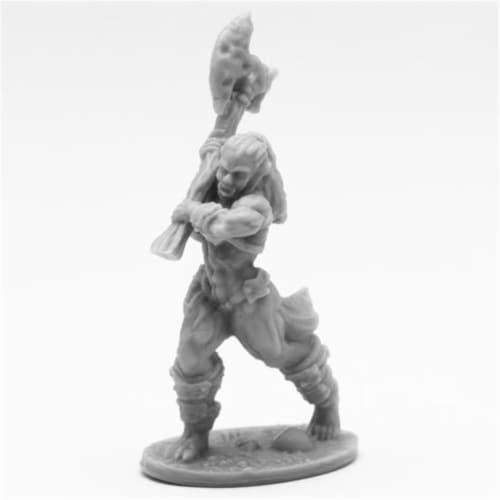 Reaper Miniatures REM44096 Bones Jade Fire Champion Miniatures, Black Perspective: front
