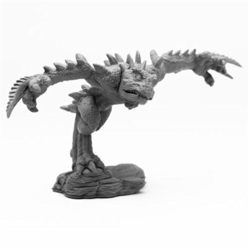 Reaper Miniatures REM44097 Bones Chaos Toad Brawler Miniatures, Black Perspective: front