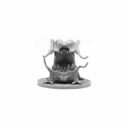 Reaper Miniatures REM44106 Bones Black-Mockingbeast Bed Miniature Perspective: front