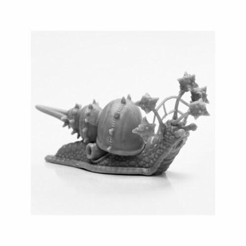 Reaper Miniatures REM44116 Bones Black-Thrasher Snail Miniature Perspective: front