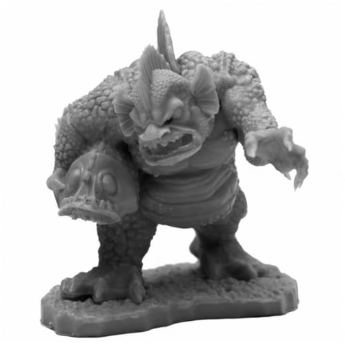 Reaper Miniatures REM44119 Bones Black Marsh Troll Miniatures & Miniature Games Perspective: front