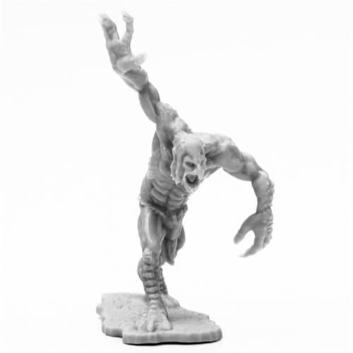 Reaper Miniatures REM44121 Bones Black Moor Troll Miniatures & Miniature Games Perspective: front