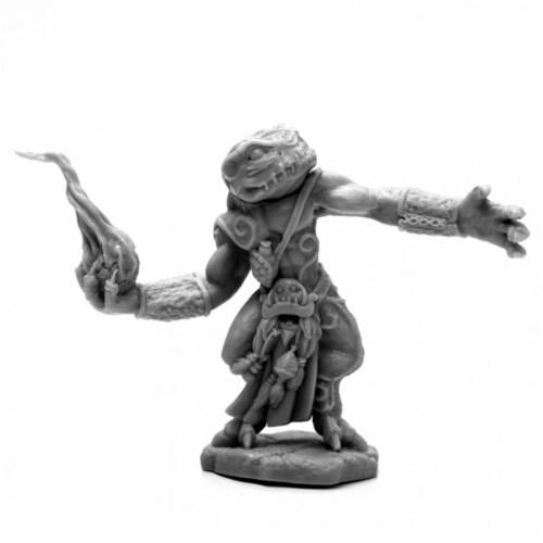 Reaper Miniatures REM44137 Bones Break Chaos Toad Sorcerer Miniatures Perspective: front