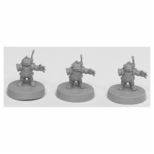 Reaper Miniatures REM49002 Bones Toolbots Miniatures Set, Black - Pack of 3 Perspective: front
