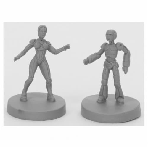 Reaper Miniatures REM49011 Bones Black-Androids Miniature - 2 Piece Perspective: front