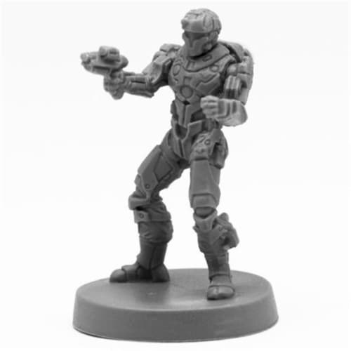 Reaper Miniatures REM49017 Bones Blood Nebula Mercenary Miniatures, Black Perspective: front