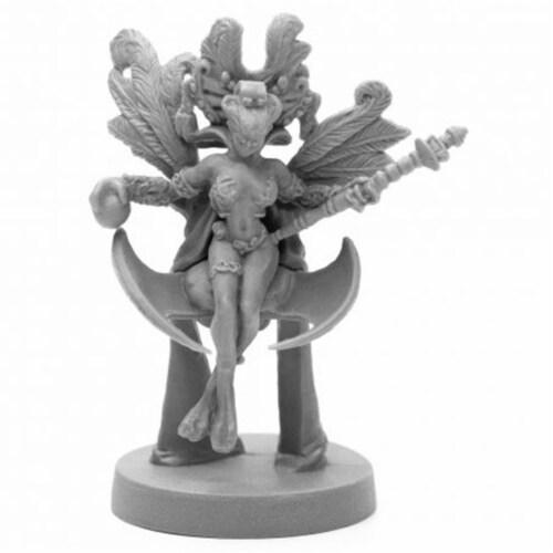 Reaper Miniatures REM49023 Bones Black-Andromedan Queen Miniature Perspective: front