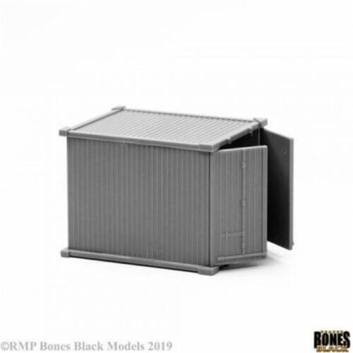 Reaper Miniatures REM49025 10 ft. Bones Black Container Miniature Perspective: front