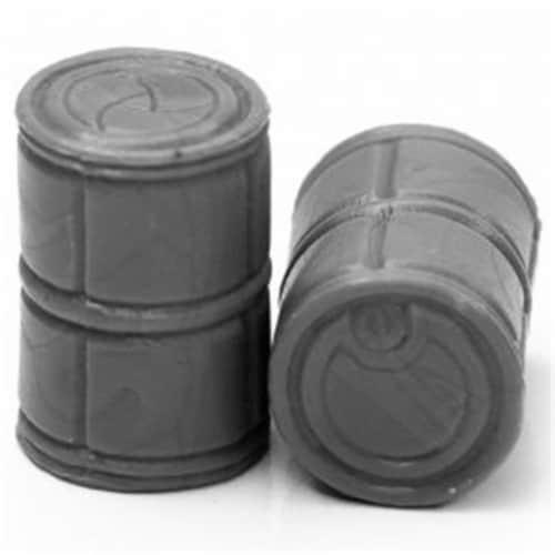 Reaper Miniatures REM49026 Bones Black-Sci Fi Barrels Miniature - 2 Piece Perspective: front