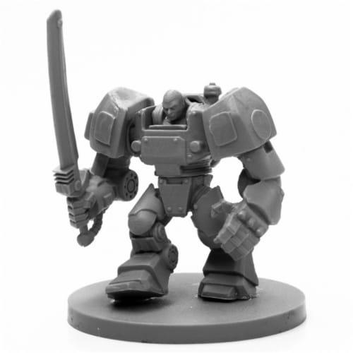 Reaper Miniatures REM49029 Bones Black-IMEF Bulldog Miniature Perspective: front