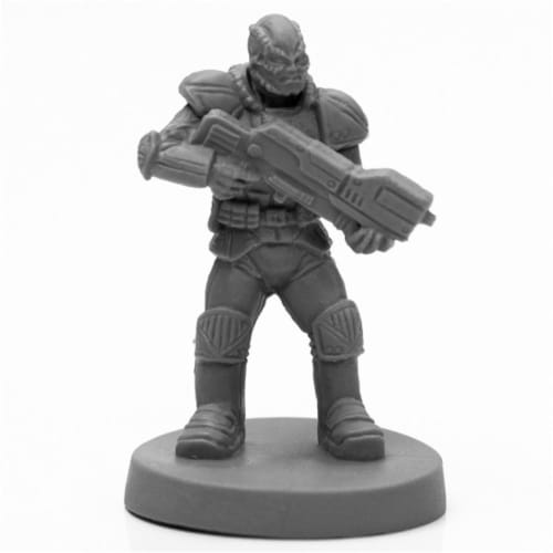 Reaper Miniatures REM49030 Bones Black Rach Soldier Miniatures & Miniature Games Perspective: front