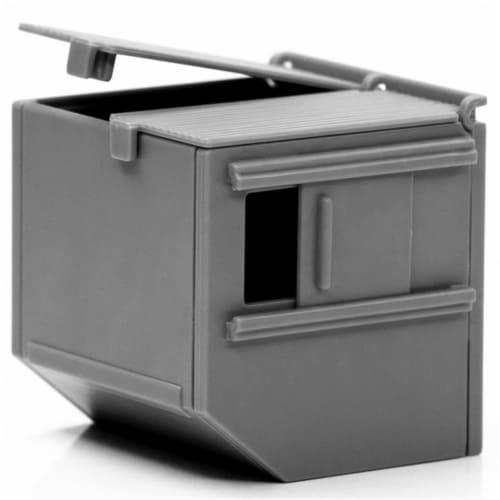 Reaper Miniatures REM49036 Bones Black Dumpster Miniatures & Miniature Games Perspective: front