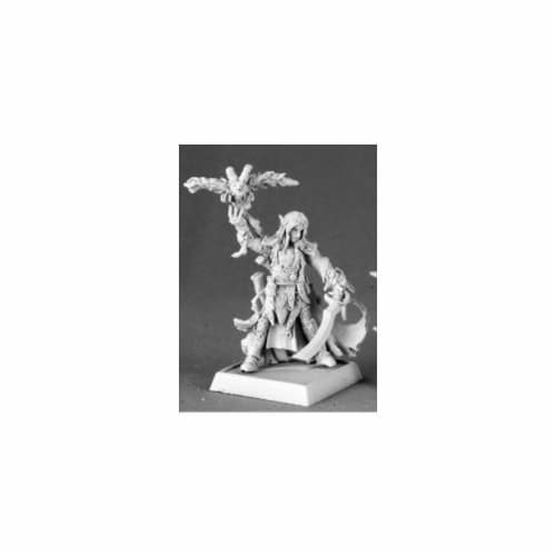Reaper Miniatures 60032 Pathfinder Series Seltyiel, Iconic Eldritch Knight Miniature Perspective: front