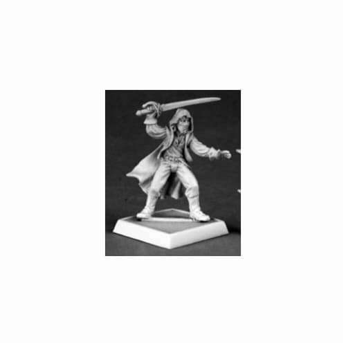 Reaper Miniatures 60053 Pathfinder Series Blackjack Miniature Perspective: front