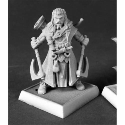 Reaper Miniatures REM60182 Hakon, Iconic Skald Pathfinder - Bobby Jackson Perspective: front