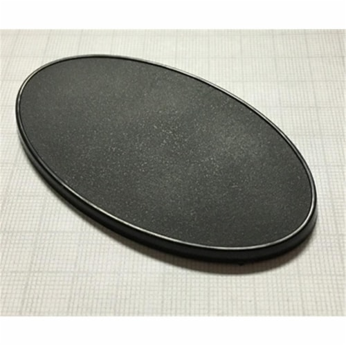 Reaper Miniatures REM74067 90 x 52 mm Oval Gaming Base - Set of 10 Perspective: front