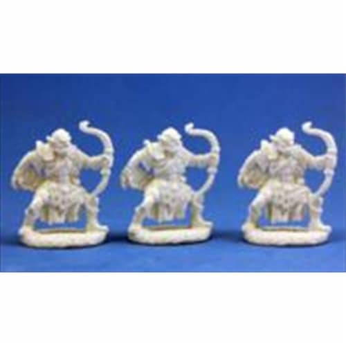 Reaper Miniatures 77002 Bones - Orc Archers Set Of 3 Perspective: front