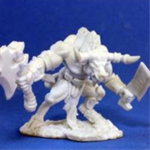 Reaper Miniatures 77013 Bonest50 - Minotaur Of The Maze Perspective: front