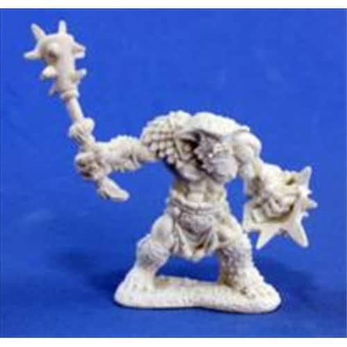 Reaper Miniatures 77015 Bonest50 - Bugbear Warrior Perspective: front