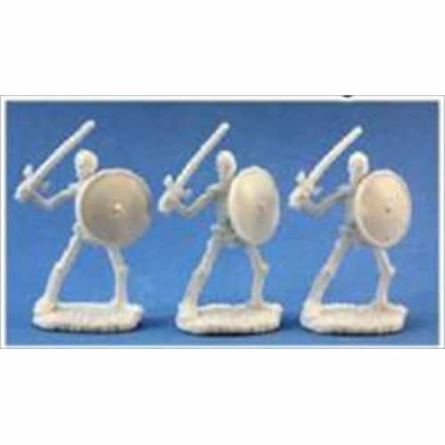 Reaper Miniatures 77017 Bones - Skeletal Swordsmen Set Of 3 Perspective: front