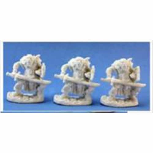 Reaper Miniatures 77019 Bones - Orc Swordsmen Set Of 3 Perspective: front