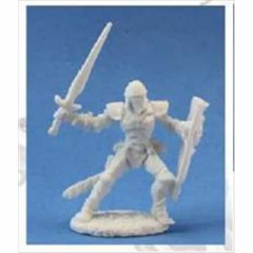Reaper Miniatures 77023 Bones - Barnabas, Evil Human Warrior Perspective: front