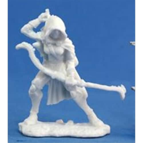 Reaper Miniatures 77033 Bonest50 - Callie, Female Rogue Perspective: front