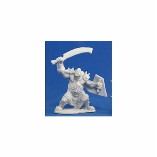 Reaper Miniatures 77042 Bones - Orc Marauder Sword And Shield Perspective: front