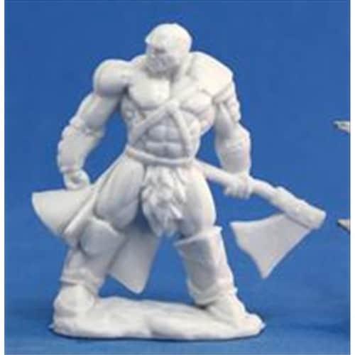Reaper Miniatures 77047 Bones - Goldar, Male Barbarian Perspective: front