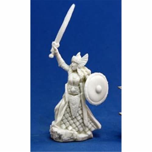 Reaper Miniatures 77052 Bones - Aina, Female Valkyrie Perspective: front