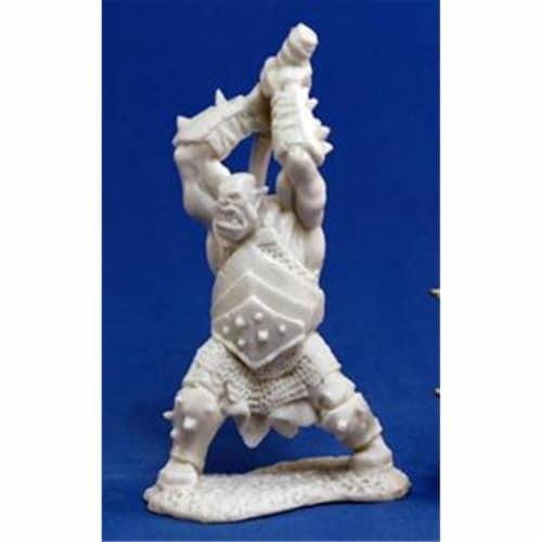 Reaper Miniatures 77059 Bones - Orc Berserker Two Handed Sword Perspective: front