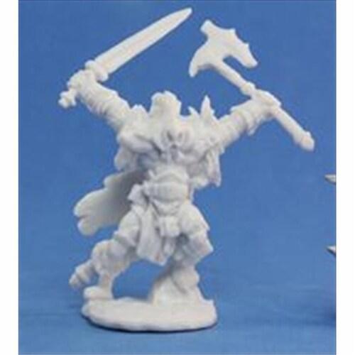Reaper Miniatures 77061 Bones - Kord The Destroyer Perspective: front