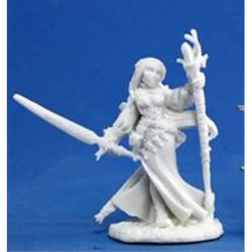 Reaper Miniatures 77076 Bones - Lysette, Female Elf Perspective: front