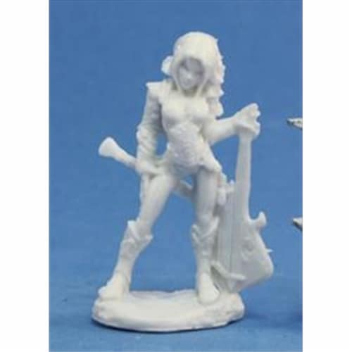 Reaper Miniatures 77078 Bonest50 - Astrid, Female Bard Perspective: front