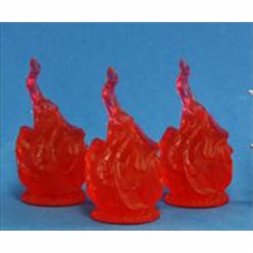 Reaper Miniatures 77081 Bones - Burning Sphere Set Of 3 Perspective: front