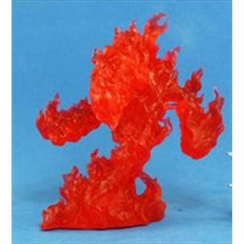 Reaper Miniatures 77082 Bones - Large Fire Elemental Perspective: front
