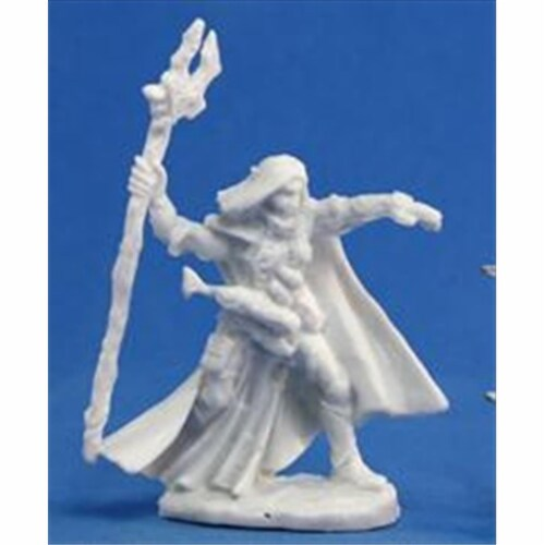 Reaper Miniatures 77092 Bones - Elquin, High Elf Adventurer Perspective: front